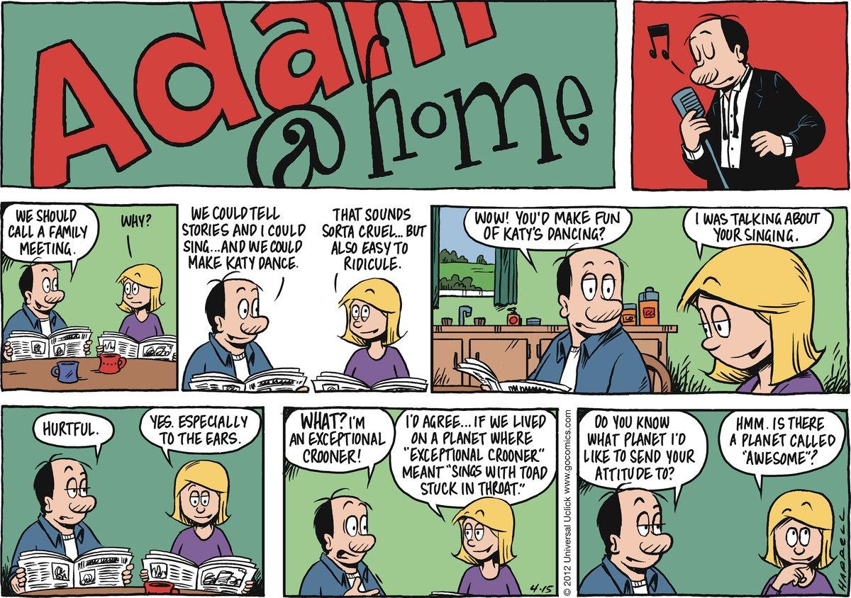 Adam@Home for Apr 15, 2012 Comic Strip
