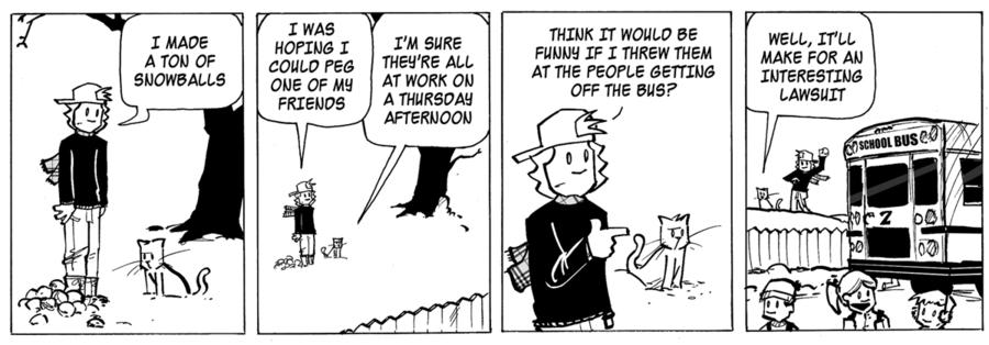 Ordinary Bill Comic Strip for February 21, 2013