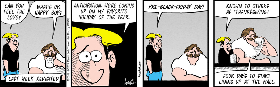 Rudy Park Comic Strip for December 02, 2019