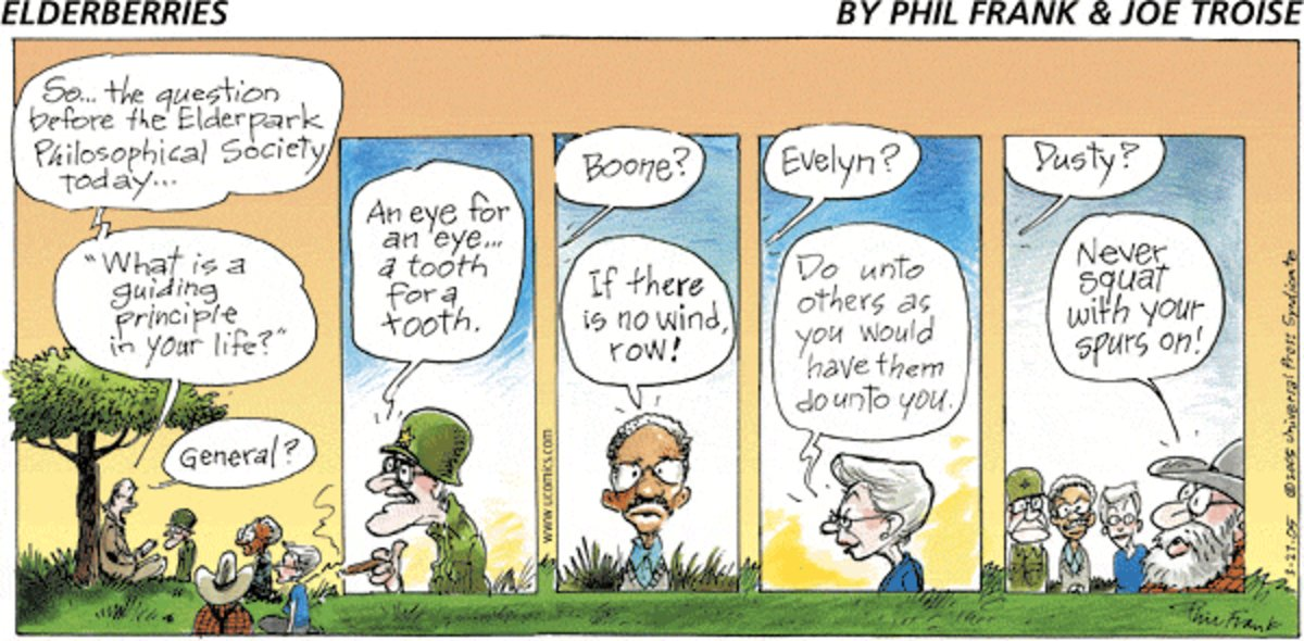 The Elderberries Comic Strip for June 24, 2012
