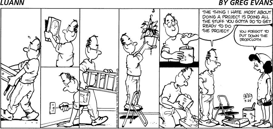 Luann Againn Comic Strip for July 25, 2021