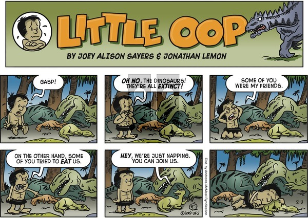 Alley Oop on Sunday February 3, 2019 Comic Strip