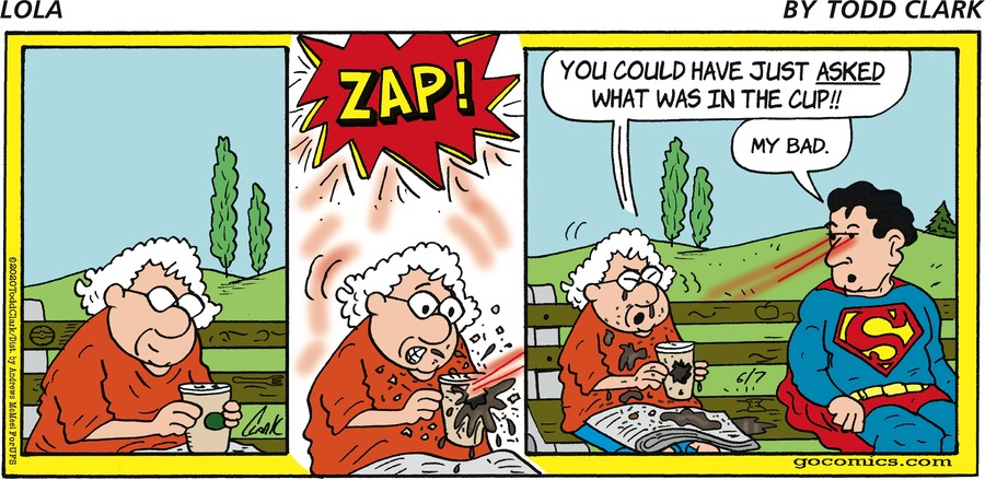 Lola Comic Strip for June 07, 2020