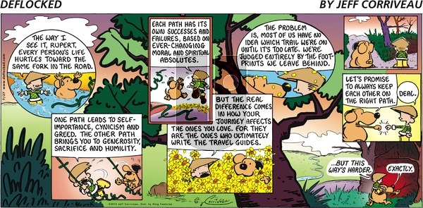 DeFlocked on Sunday July 27, 2014 Comic Strip