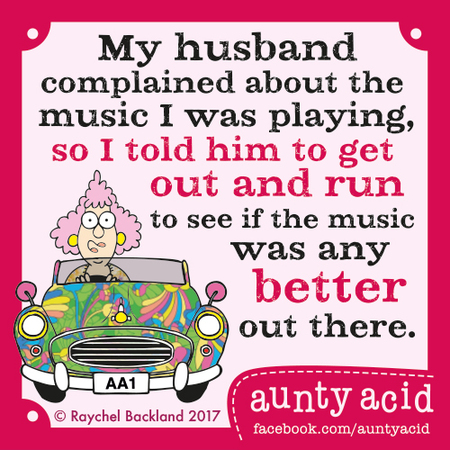 Aunty Acid for May 12, 2017 Comic Strip