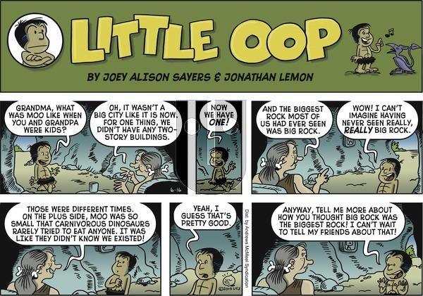 Alley Oop on Sunday June 16, 2019 Comic Strip