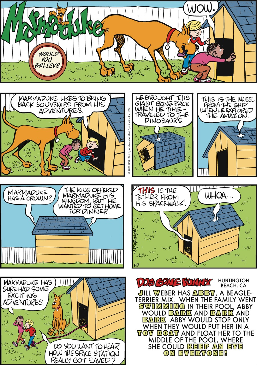 Marmaduke by Brad Anderson on Sun, 02 May 2021