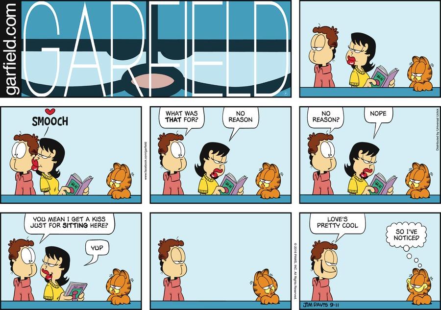 Garfield for Sep 11, 2016 Comic Strip