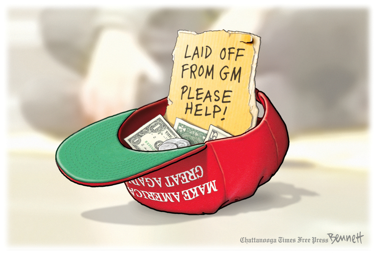 Clay Bennett Comic Strip for March 13, 2019