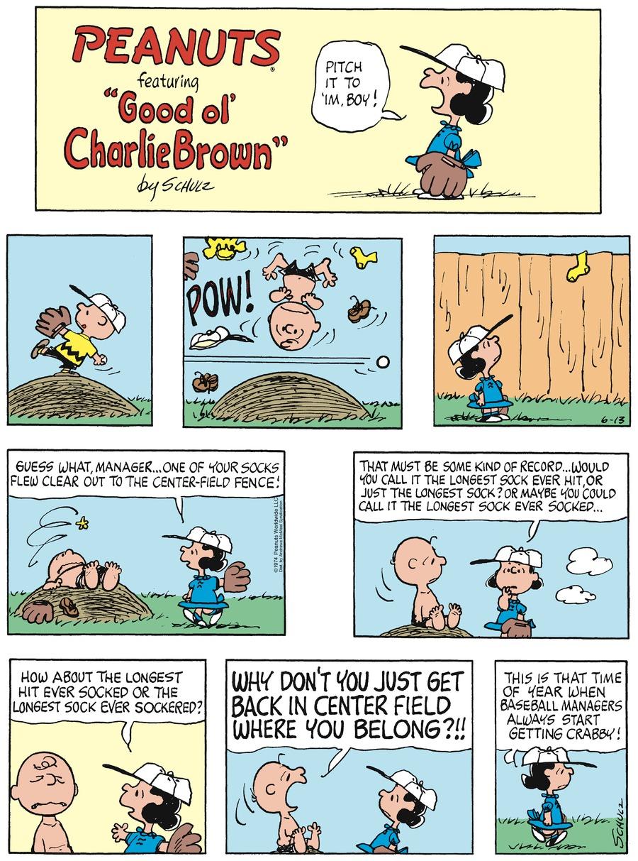 Peanuts Comic Strip for June 13, 2021