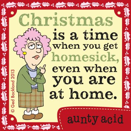Aunty Acid for Dec 16, 2013 Comic Strip