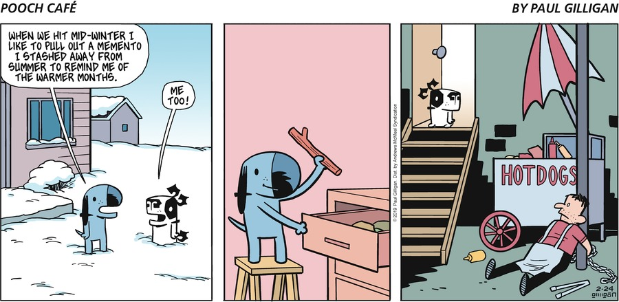 Pooch Cafe Comic Strip for February 24, 2019