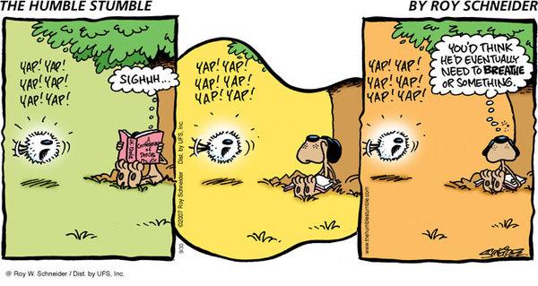 The Humble Stumble Comic Strip for June 25, 2019