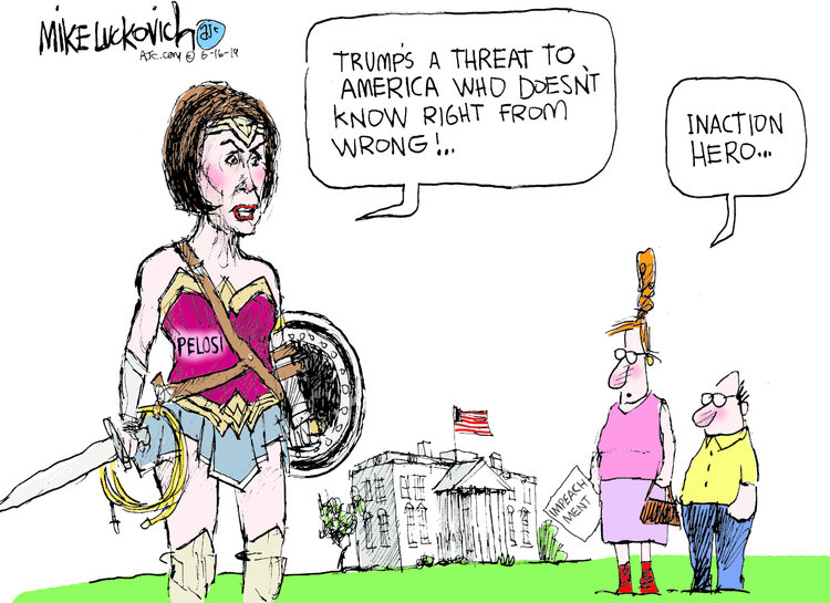 Mike Luckovich Comic Strip for June 16, 2019