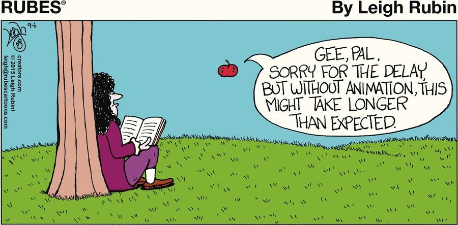 Rubes Comic Strip for September 06, 2015