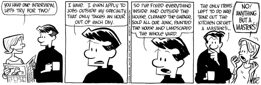 The Norm Classics Comic Strip for July 12, 2019