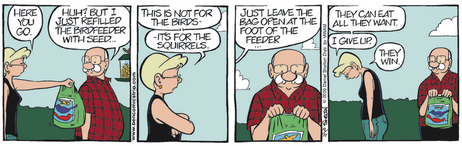 Ben Comic Strip for September 11, 2020