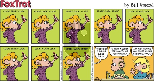 FoxTrot on Sunday February 17, 2019 Comic Strip