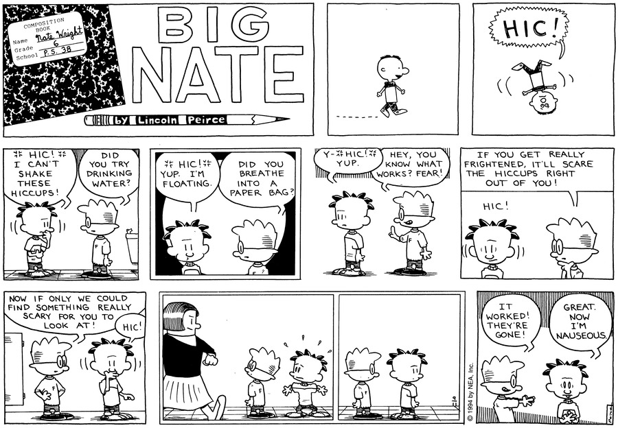 Big Nate: First Class by Lincoln Peirce for September 22, 2019