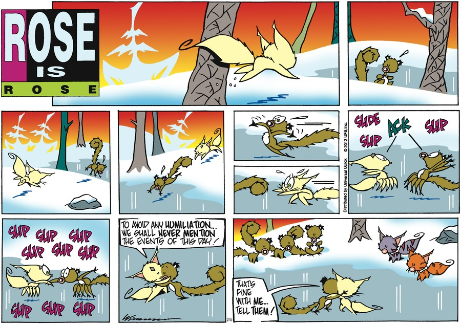 Rose is Rose Comic Strip for February 05, 2012