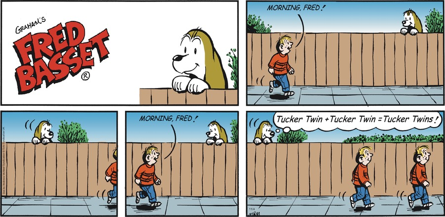 Fred Basset Comic Strip for November 04, 2018