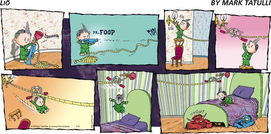 Lio for May 28, 2006 Comic Strip