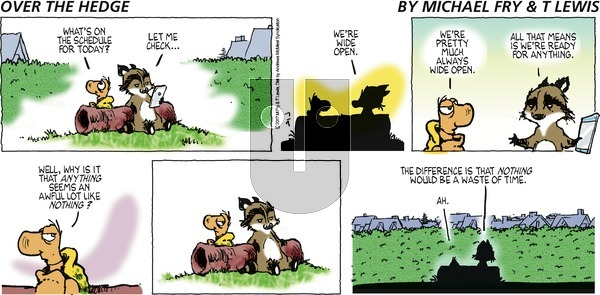 Over the Hedge on Sunday July 9, 2017 Comic Strip