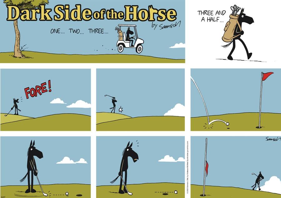 Dark Side of the Horse Comic Strip for September 27, 2020