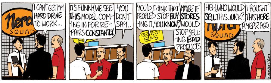Beardo for Nov 7, 2013 Comic Strip