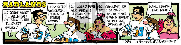 Badlands on Thursday January 9, 2020 Comic Strip