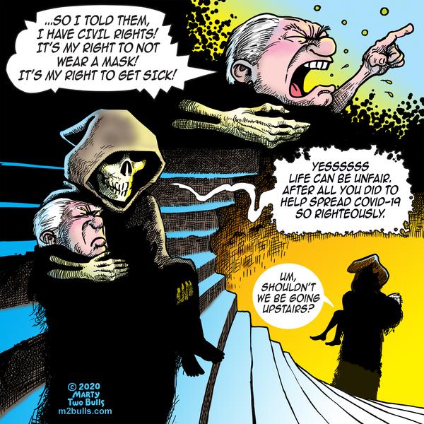 M2Bulls Comic Strip for July 23, 2020