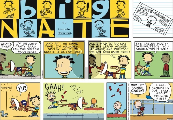 Big Nate on Sunday October 1, 2017 Comic Strip