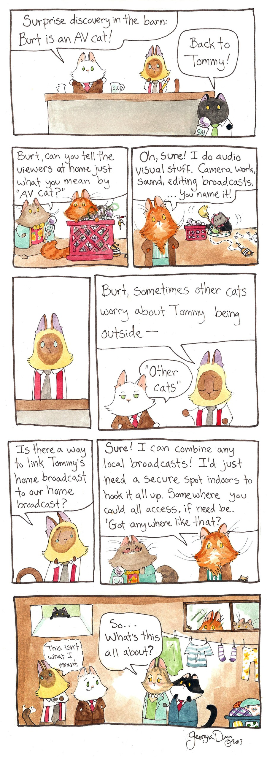 Breaking Cat News Comic Strip for January 15, 2017
