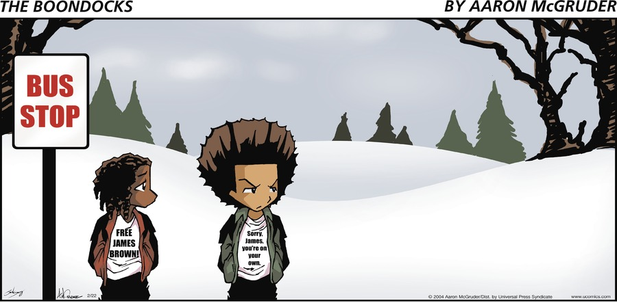The Boondocks by Aaron McGruder for May 05, 2019