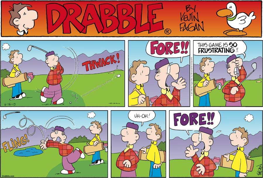 Drabble Comic Strip for June 16, 2013