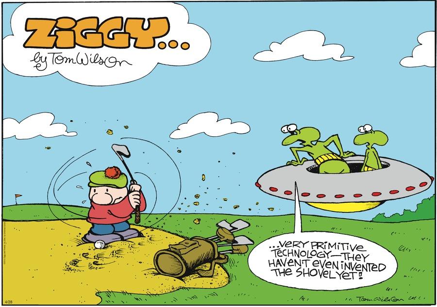 Ziggy for Apr 28, 2013 Comic Strip