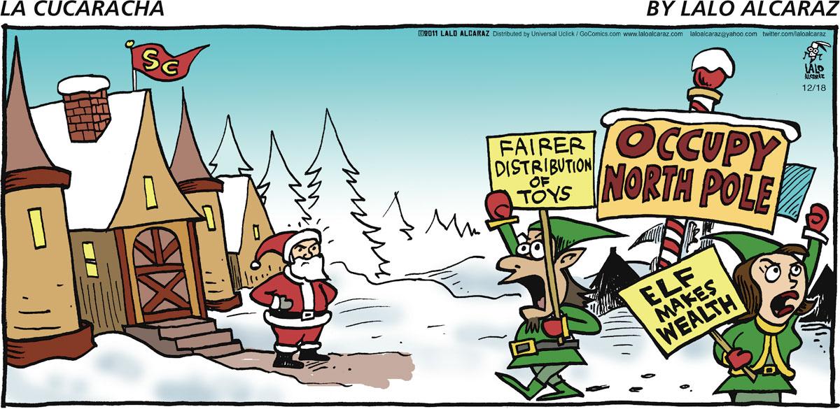 La Cucaracha for Dec 18, 2011 Comic Strip