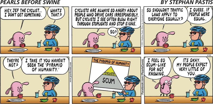 Pearls Before Swine Comic Strip for January 13, 2013
