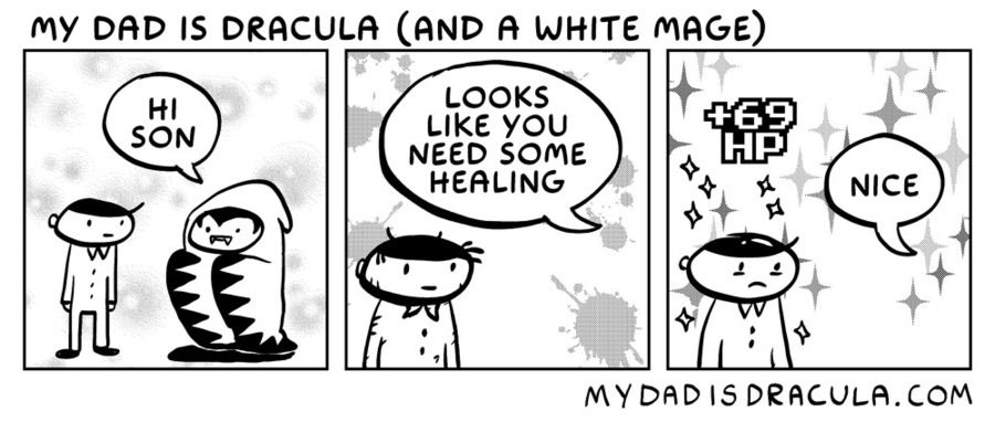 My Dad is Dracula Comic Strip for July 05, 2020