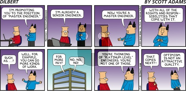 Dilbert on Sunday January 19, 2020 Comic Strip