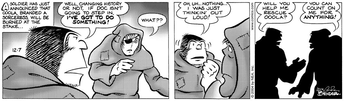 Alley Oop for Dec 7, 2004 Comic Strip