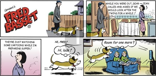 Fred Basset on Sunday February 10, 2019 Comic Strip