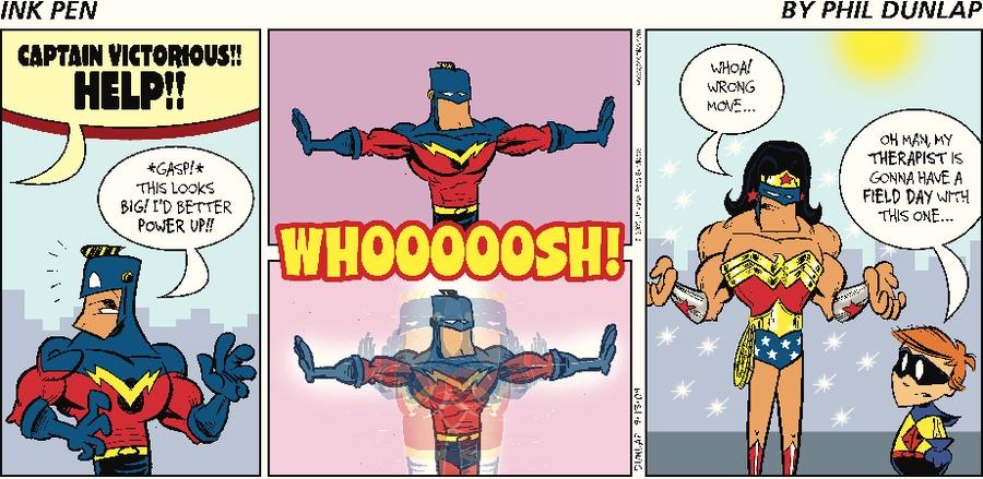 Ink Pen Comic Strip for September 13, 2009