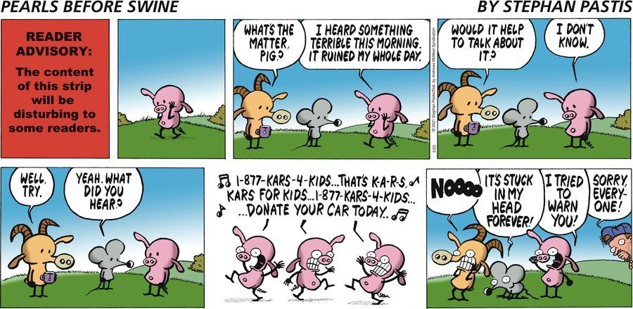 Pearls Before Swine Comic Strip for May 23, 2021