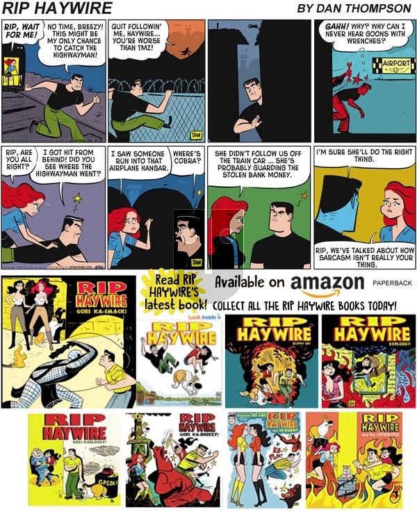 Rip Haywire on Sunday September 15, 2019 Comic Strip