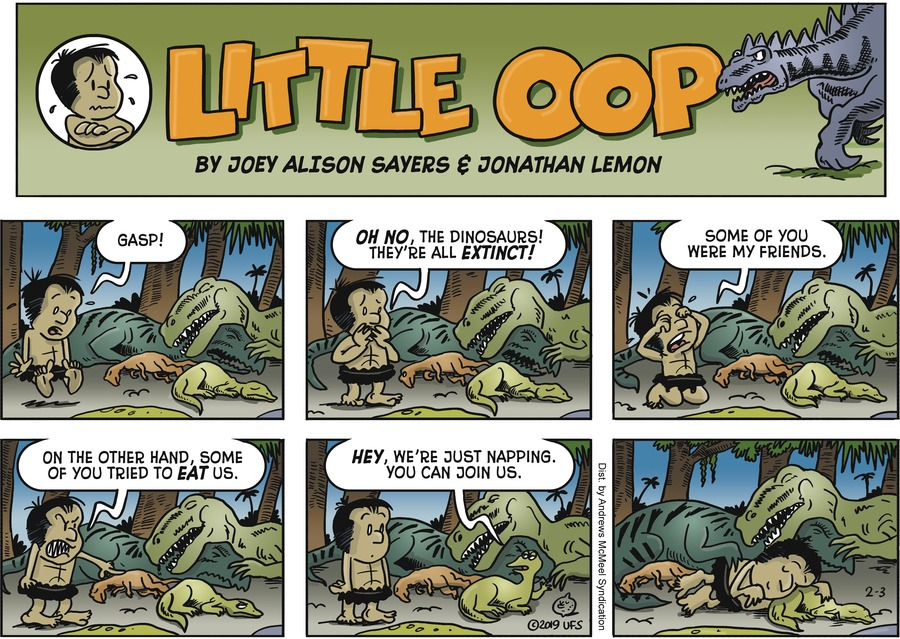 Alley Oop Comic Strip for February 03, 2019