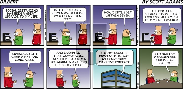 Dilbert on Sunday October 4, 2020 Comic Strip