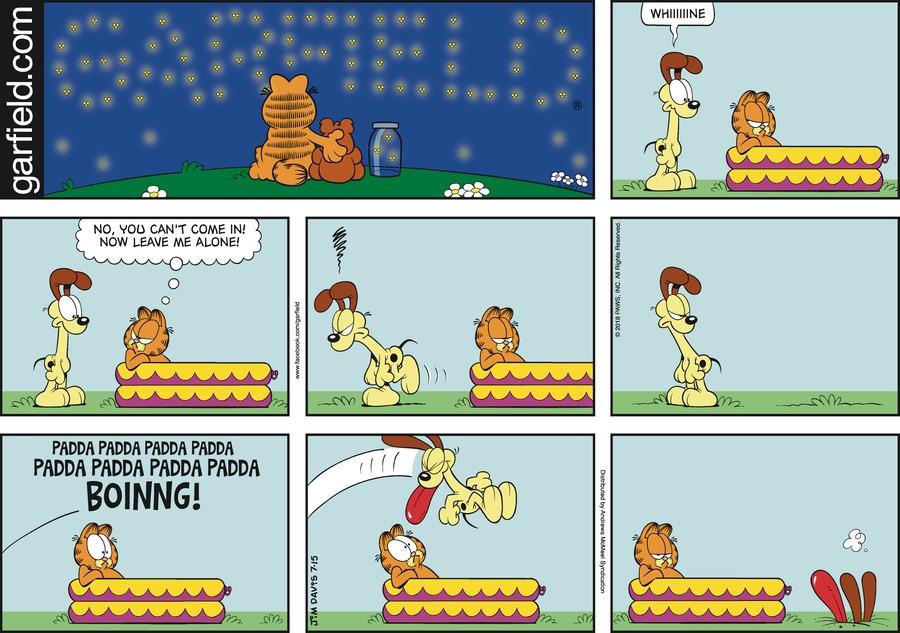 Garfield Comic Strip for July 15, 2018