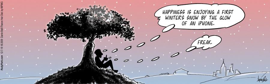 Rudy Park Comic Strip for December 07, 2019