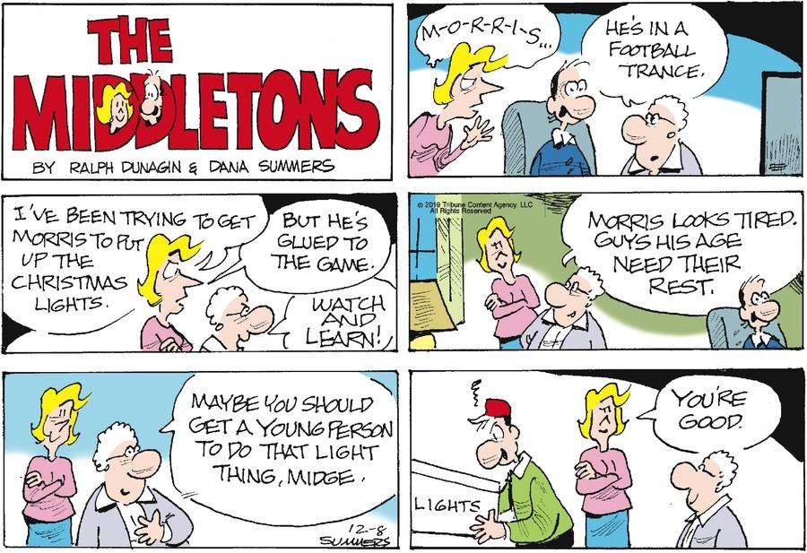 The Middletons Comic Strip for December 08, 2019